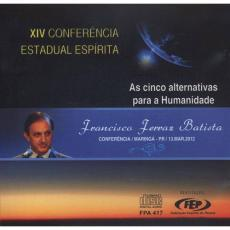 CD CINCO ALTERNATIVAS PARA A HUMANIDADE